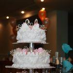 Свадебный торт из крема_5