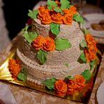 Свадебный торт из крема_6