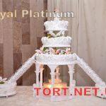 Свадебный торт из крема_9