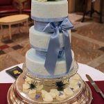 Свадебный торт на подставке_11