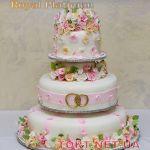 Свадебный торт на подставке_13