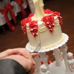 Свадебный торт на подставке_14