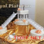 Свадебный торт на подставке_16