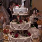 Свадебный торт на подставке_17