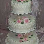 Свадебный торт на подставке_19