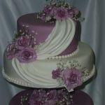 Свадебный торт на подставке_20