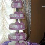 Свадебный торт на подставке_22