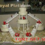 Свадебный торт на подставке_25