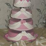 Свадебный торт на подставке_28