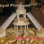 Свадебный торт на подставке_29