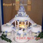 Свадебный торт на подставке_2