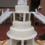Свадебный торт на подставке_33