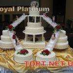 Свадебный торт на подставке_35