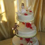 Свадебный торт на подставке_39
