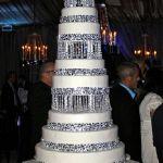 Свадебный торт на подставке_3
