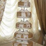 Свадебный торт на подставке_41