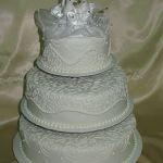 Свадебный торт на подставке_42