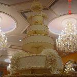 Свадебный торт на подставке_43