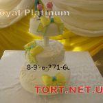 Свадебный торт на подставке_45