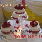 Свадебный торт на подставке_46