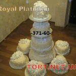 Свадебный торт на подставке_47