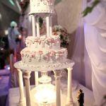 Свадебный торт на подставке_48