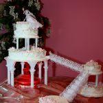 Свадебный торт на подставке_4