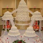 Свадебный торт на подставке_5