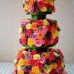 Свадебный торт на подставке_7
