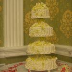 Свадебный торт на подставке_9