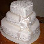 Свадебный торт Сердце_10