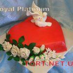 Свадебный торт Сердце_14