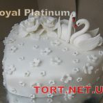 Свадебный торт Сердце_15