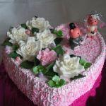 Свадебный торт Сердце_17