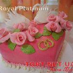 Свадебный торт Сердце_19
