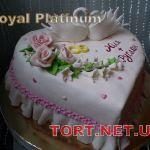 Свадебный торт Сердце_20