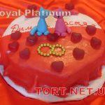 Свадебный торт Сердце_22