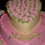 Свадебный торт Сердце_23