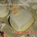 Свадебный торт Сердце_2