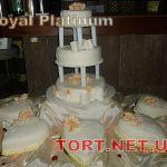 Свадебный торт Сердце_3