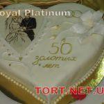 Свадебный торт Сердце_4