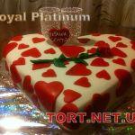 Свадебный торт Сердце_5