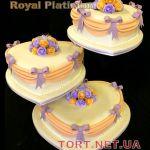 Свадебный торт Сердце_8