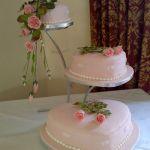 Свадебный торт Сердце_9
