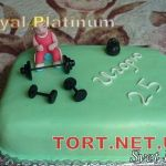 Торт Штангист_3