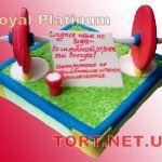 Торт Штангист_4