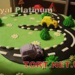 Торт Детское авто_15