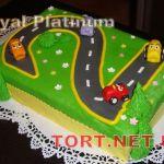 Торт Детское авто_16