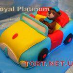 Торт Детское авто_3