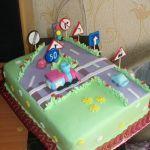 Торт Детское авто_7